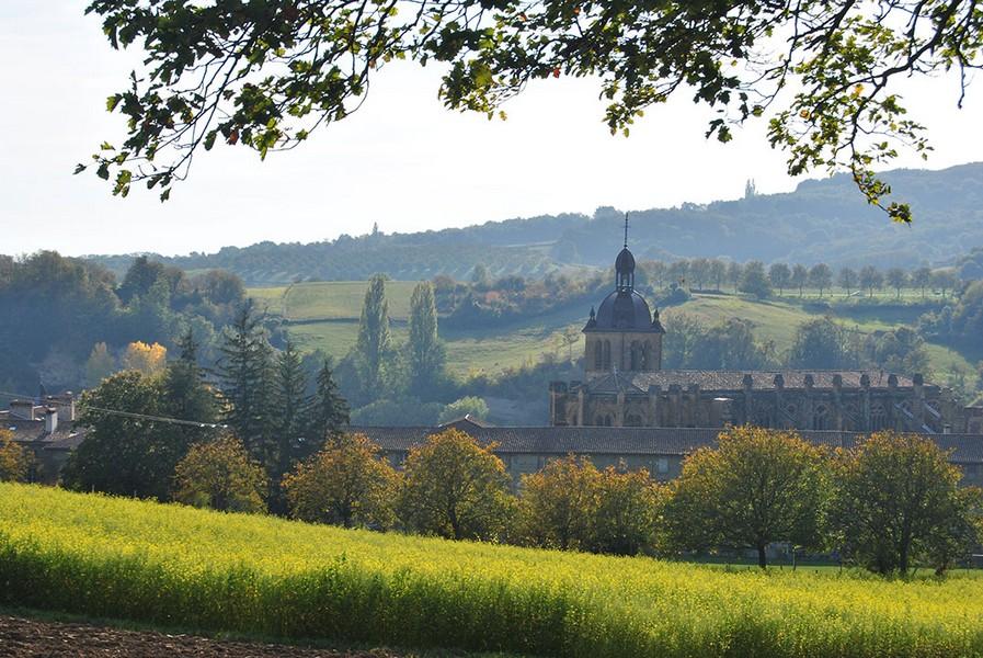 Vu sur l'Abbaye